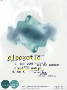 Resident DJ Tatjana Suender - Elecxotic im Pavillino im Stadtpark