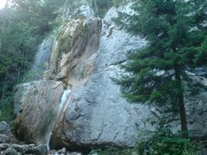Wasserfall Klettergarten in Sonnleiten bei Puchberg am Schneeberg