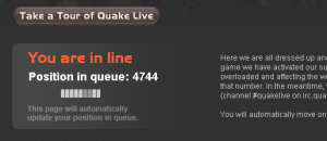 Quake Live Queue