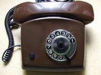 Wählscheibentelefon eines Digital Immigrants
