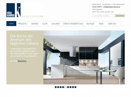 Startseite von Möbel Karner Gänserndorf