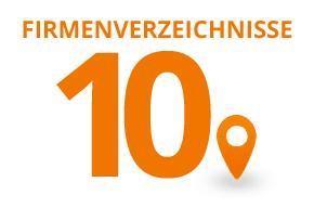 10 Firmenverzeichnis Einträge kaufen