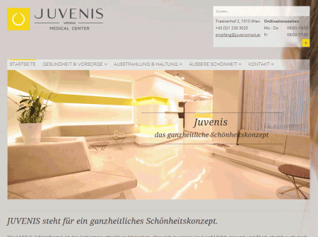 Mobile Webdesign Referenz Juvenis
